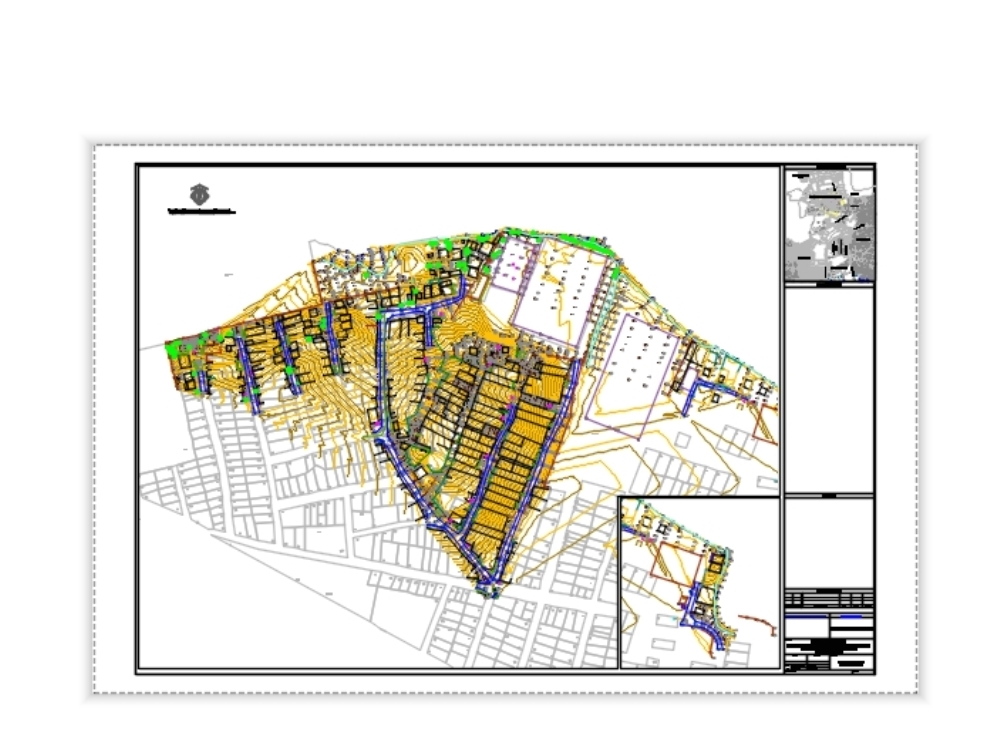 Topographic survey - sanitary sewer