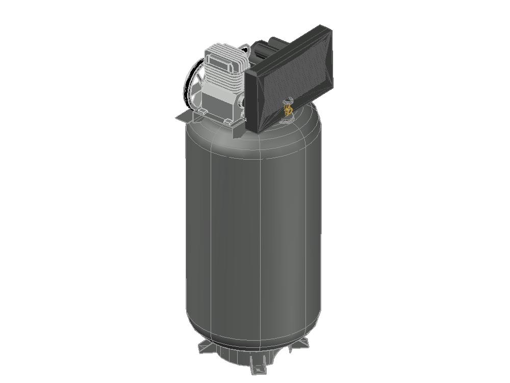 Vertical air compressor campbell