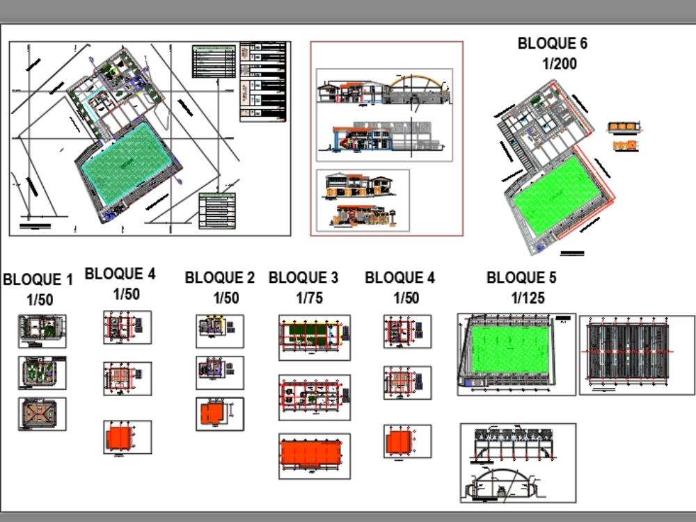 Architectural project minor municipality (district)