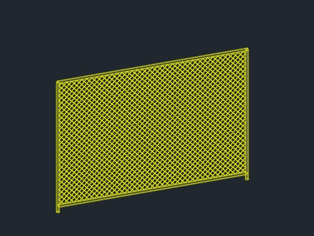 Stadium type mesh