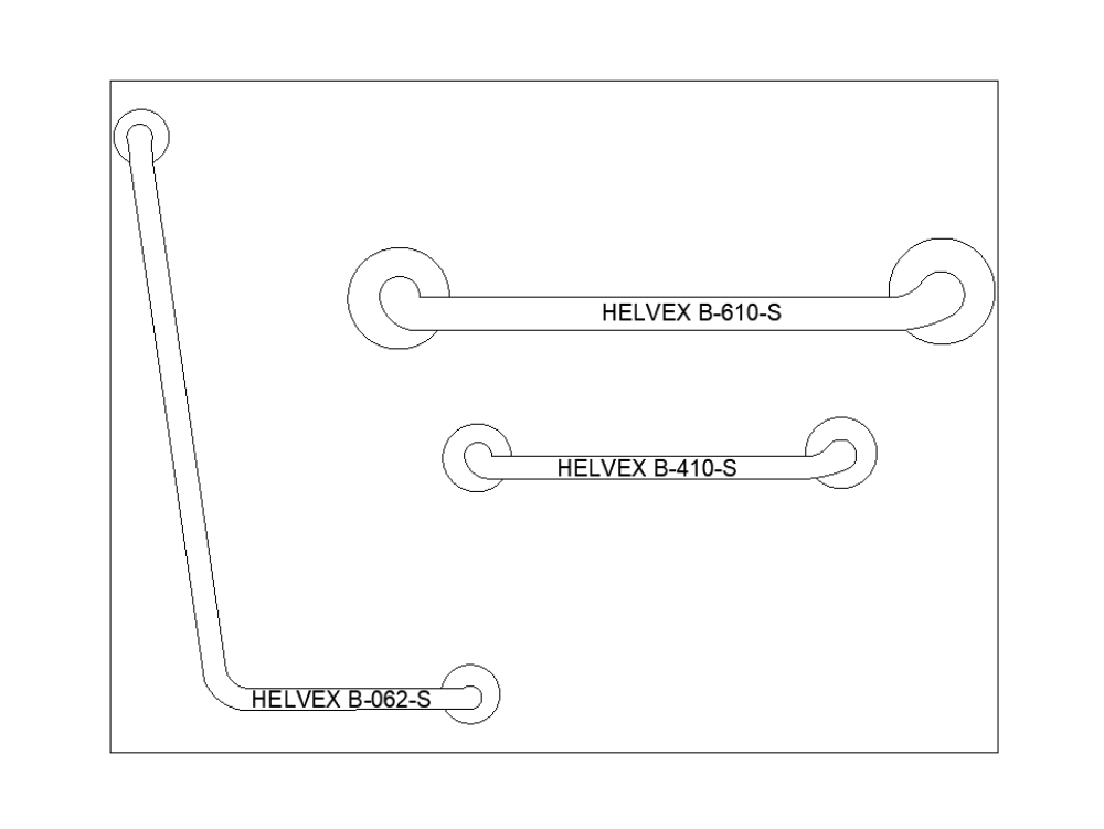 Helvex support bars