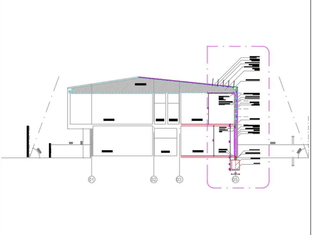 Escatillon metalcon fachada casa modelo