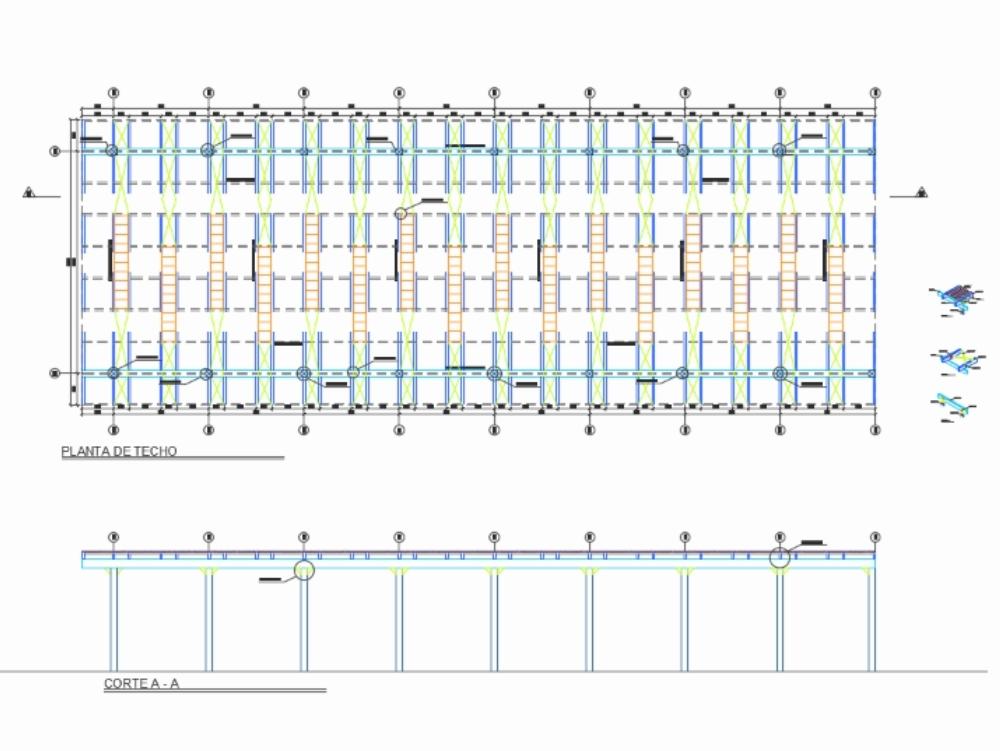 Diseño de estructuras metálicas en el marco del generador.