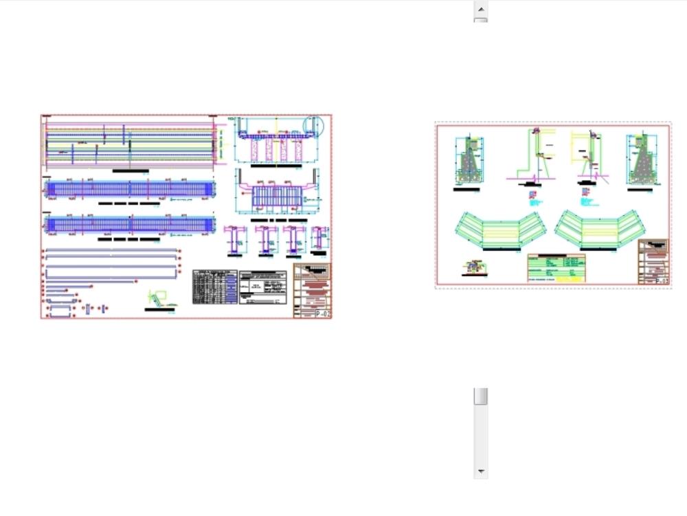 Planos puente huilluca superestructura
