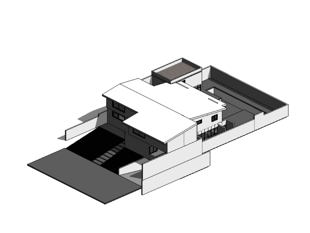 House room project revit