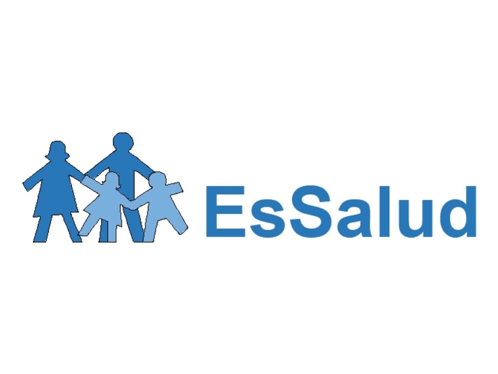Hospital logo of the state essalud peru