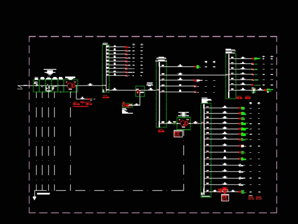 Diagram plan for electrical project
