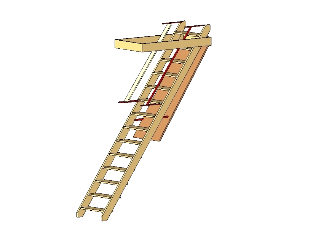 Ladder for roof