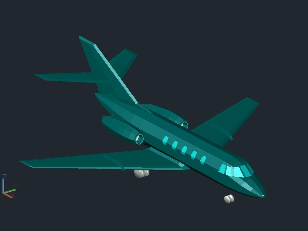 Commercial plane