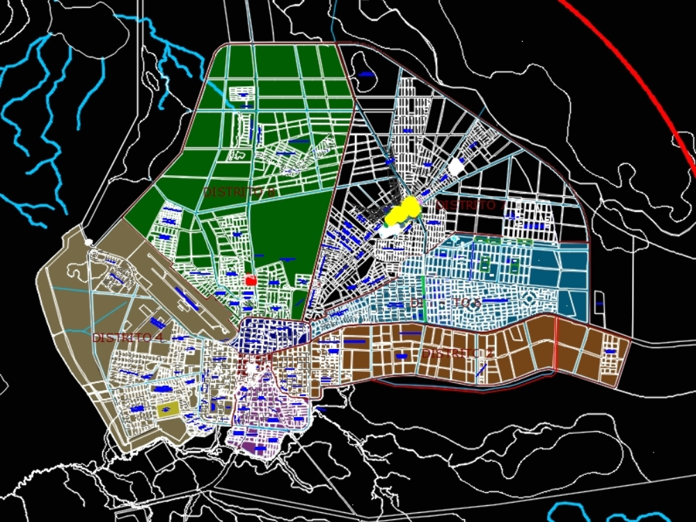 Urban planning of the Holy Trinity