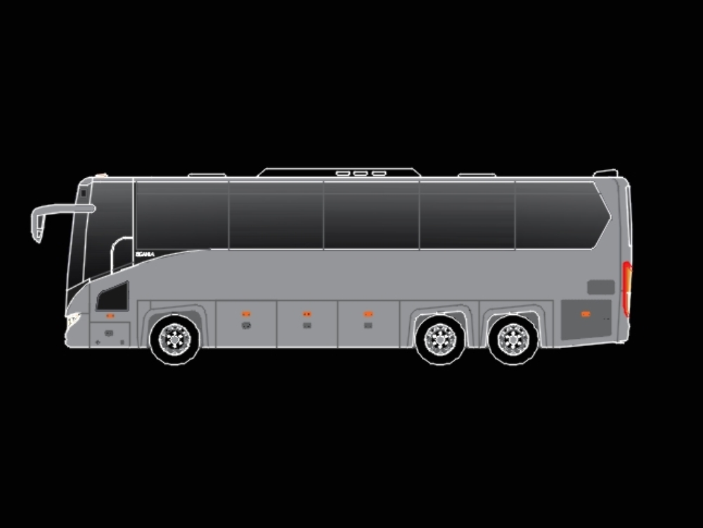 Bus scania touring