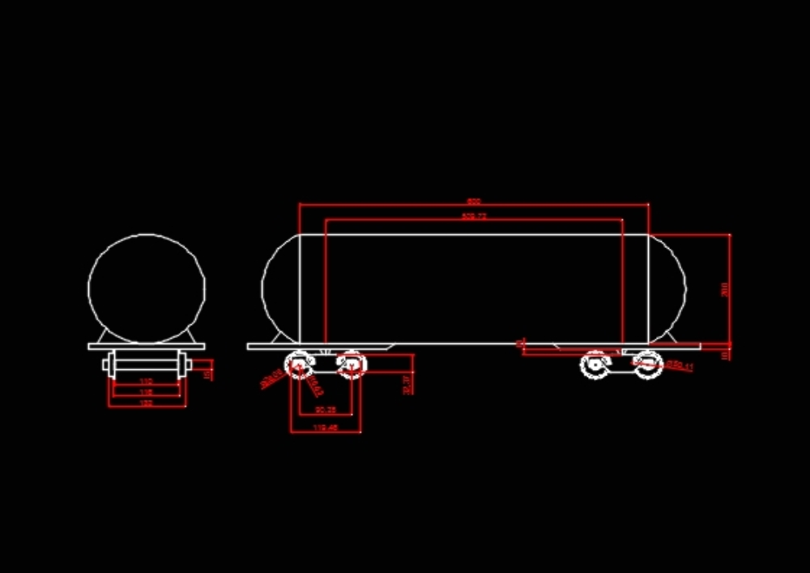 Carro carro tct carga de combustible