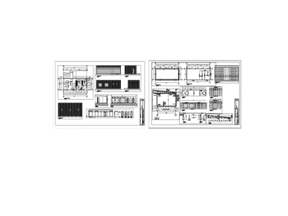 Oficina de atención a publico - estructura de acero