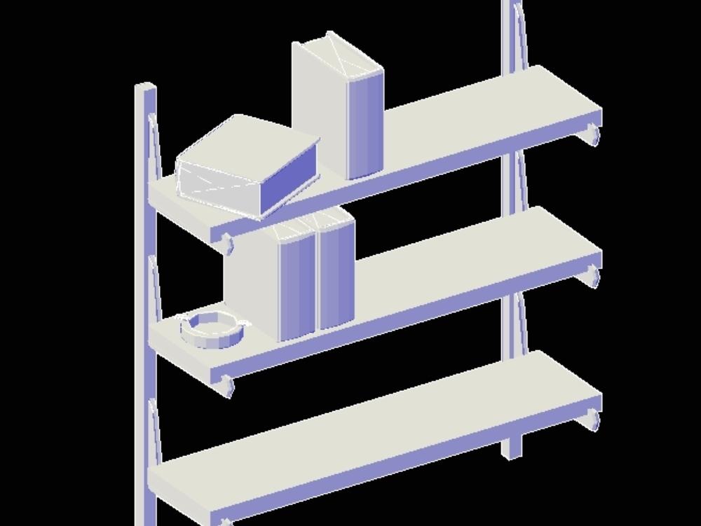 Shelves in 3 dimensions - blocks