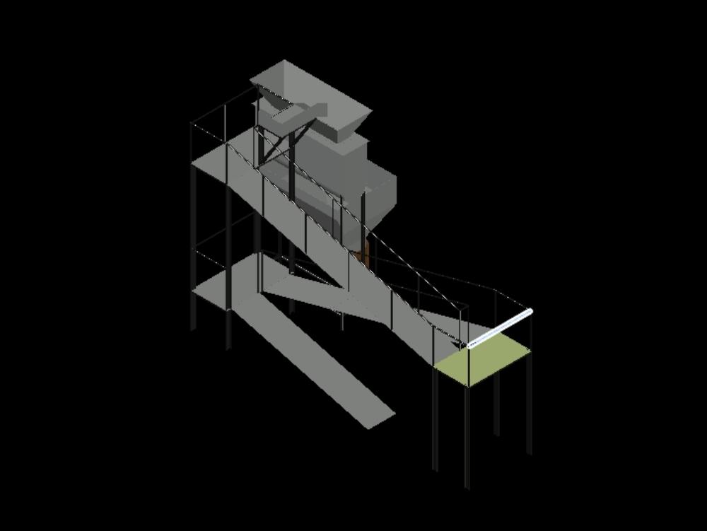 Tanque mezclador y almacenamiento inferior