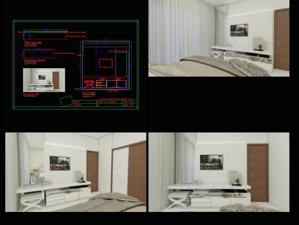TV Furniture Detailing