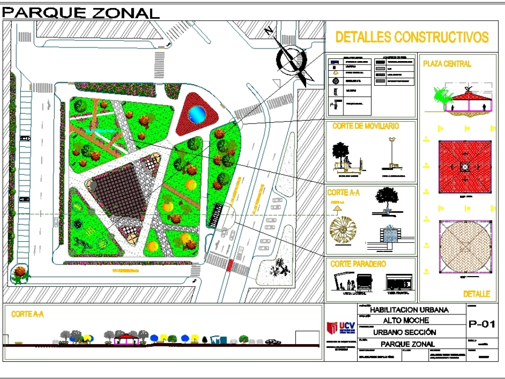Proyecto de urbano - parque zonal