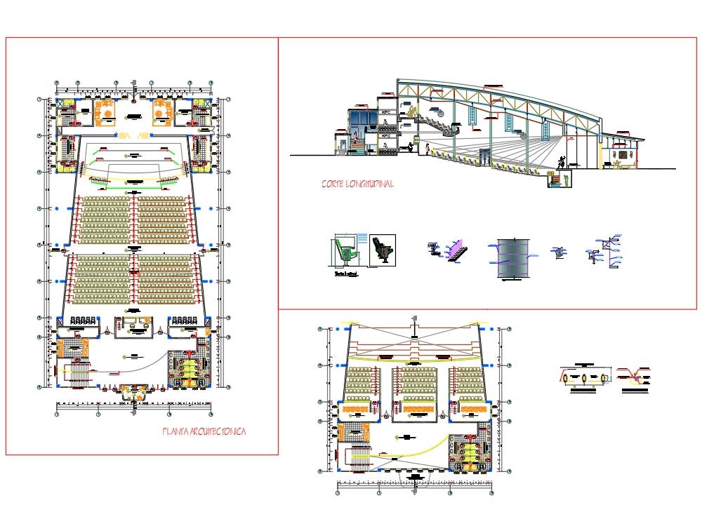 Arquitectura de un auditorio