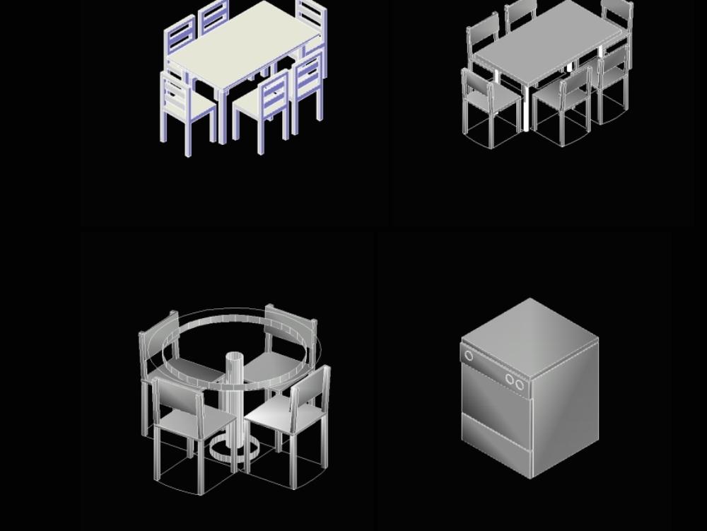 Mobiliarios - mesas de comedor