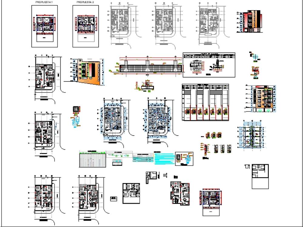 Proyecto departamentos y parqueaderos