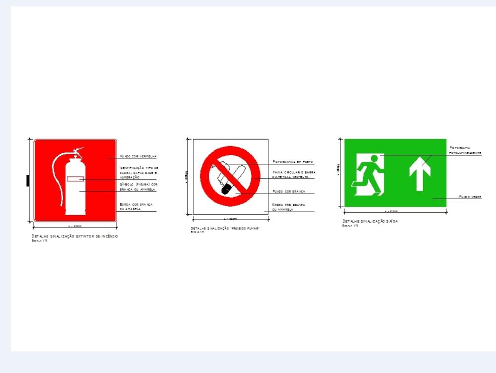 Bloques automáticos para proyectos contra incendios