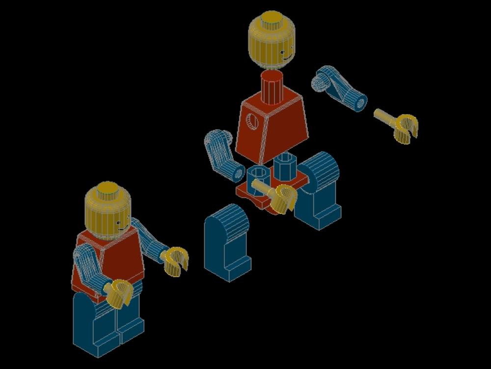 Lego - despiece explosiva