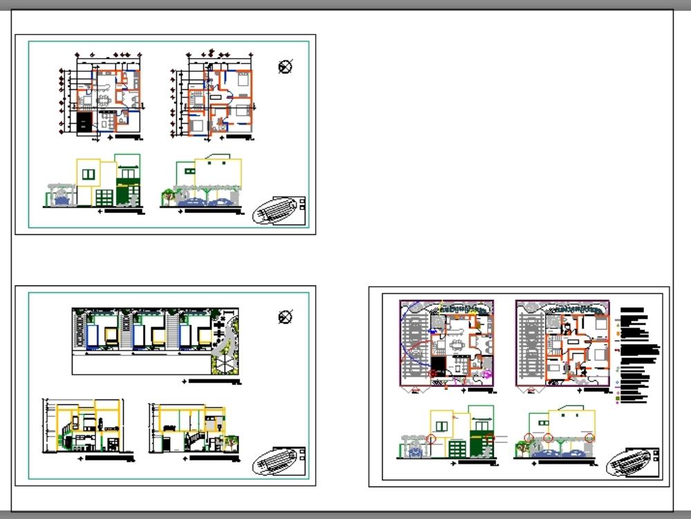 Modern 3d duplex villa design