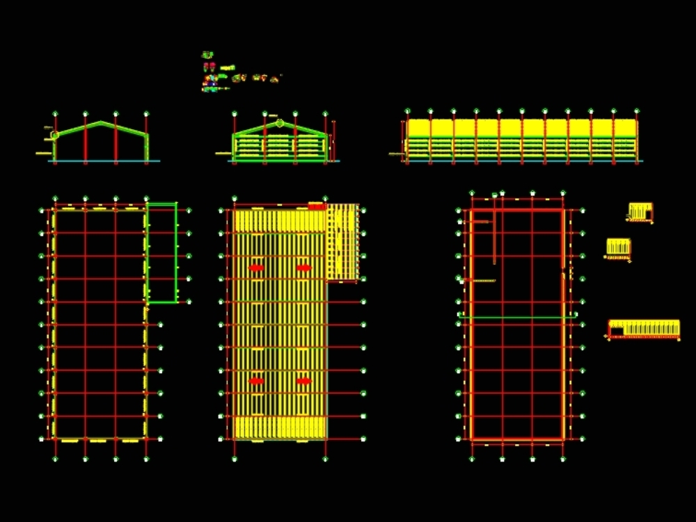 Industrial warehouse structure design