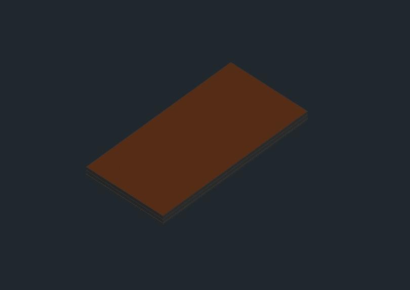 Aluminium plywood stage deck 2;00 x 1;00m