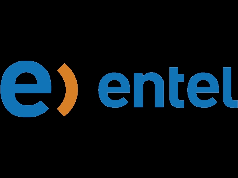 Updated logo of the entel company
