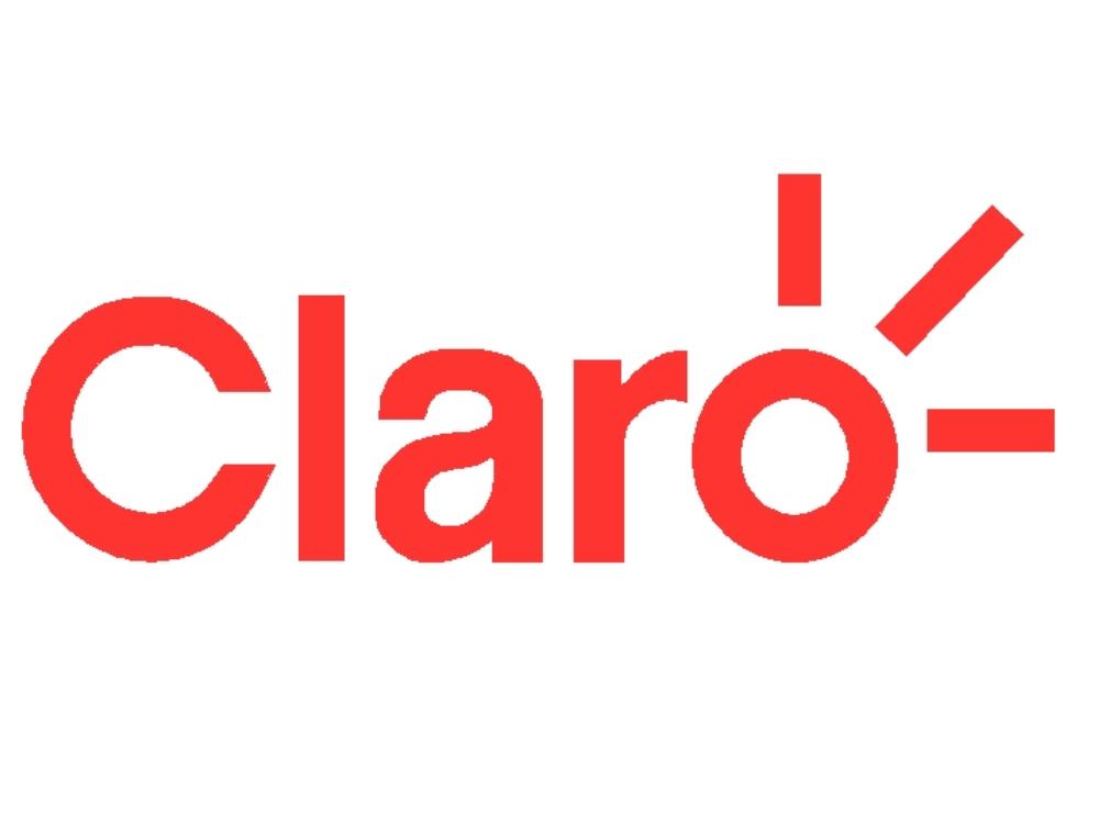 Logo actualizado de la compañia claro