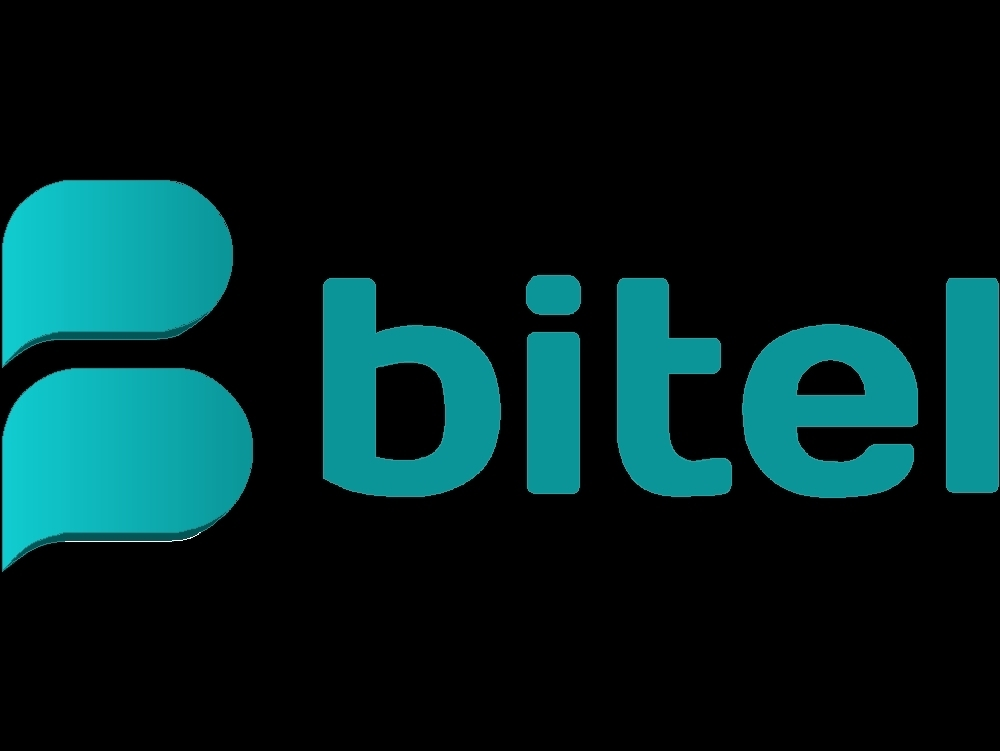 Updated logo of the bitel company