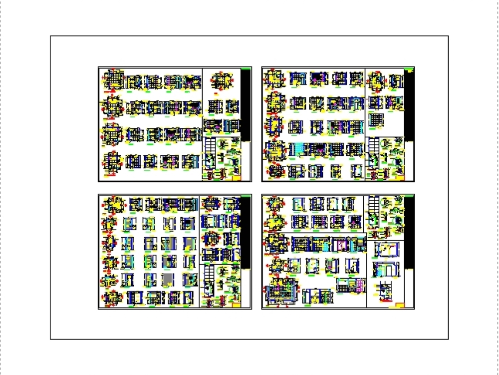 Baños y detalles constructivos de ss.hh