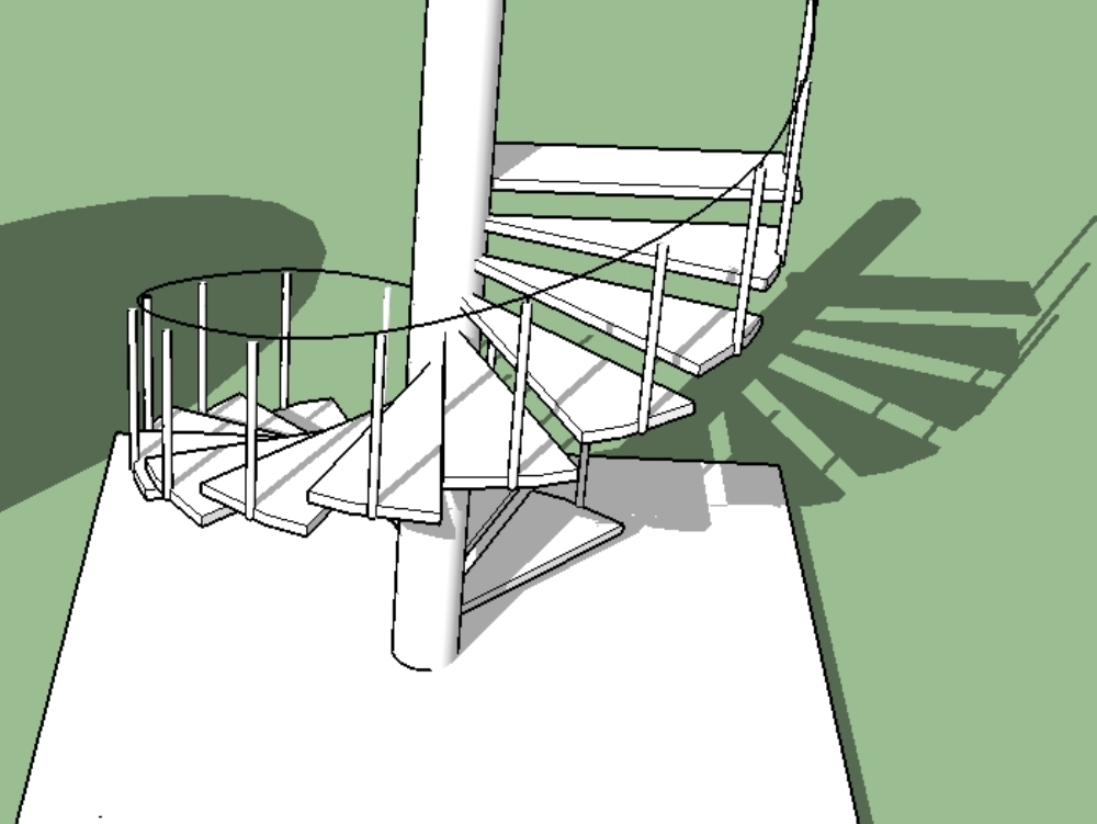 Base stairs in scketchup tools