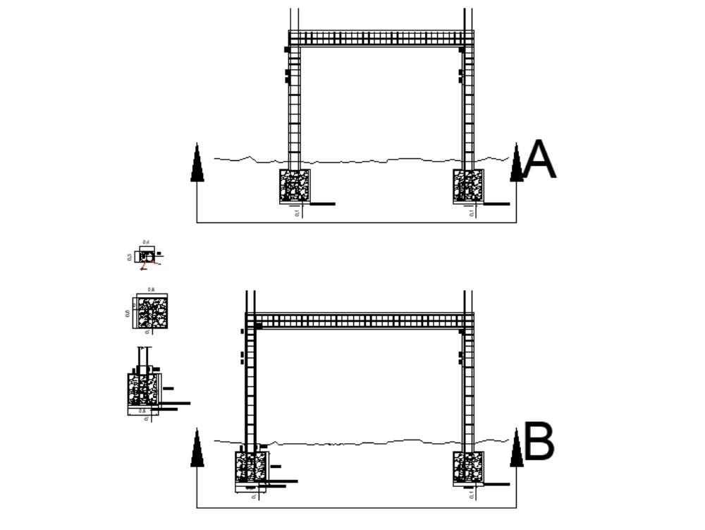 Diseño de columnas para casa de tres pisos