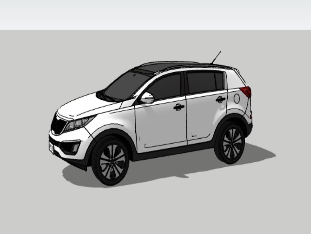 Camioneta kia sportage 2018 color blanco