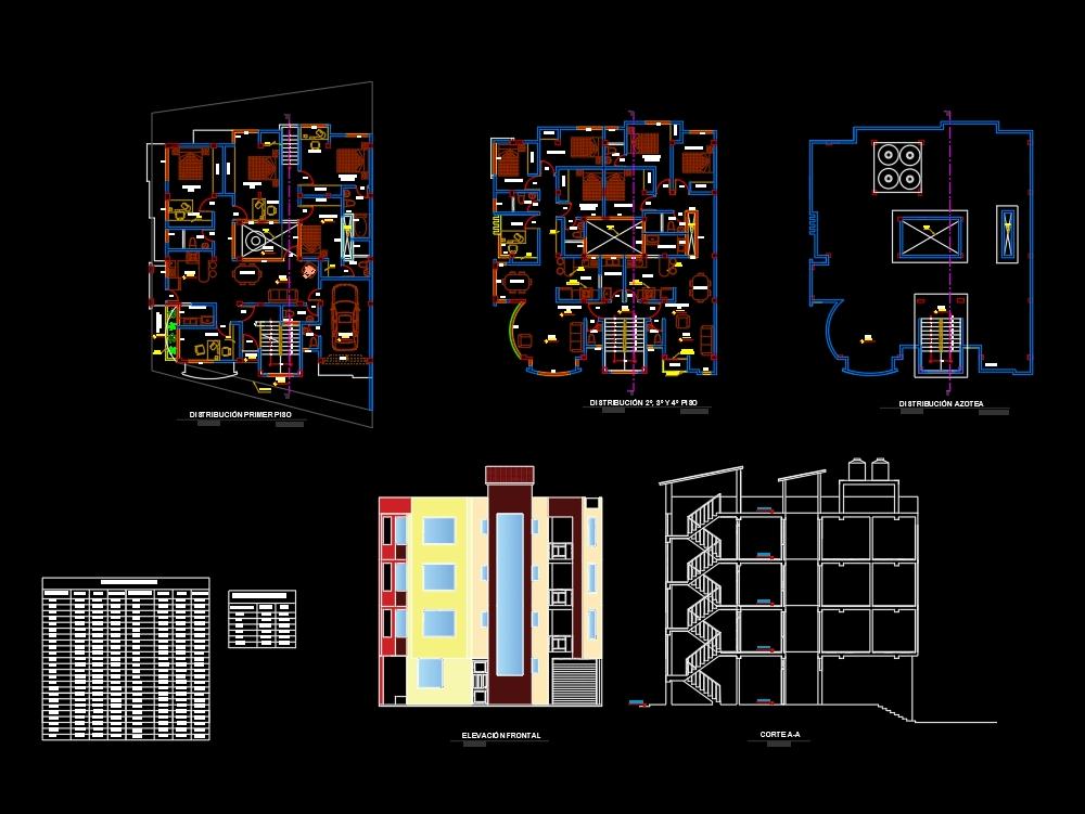 Residential multifamily housing