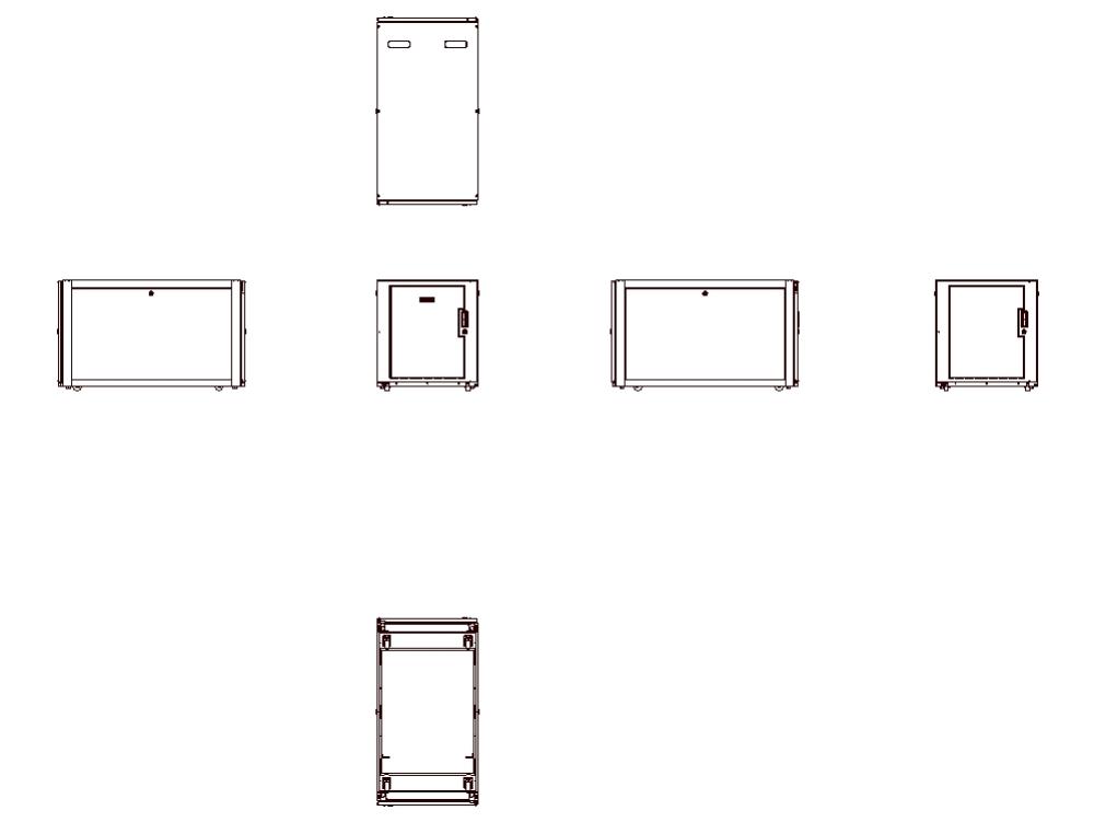 Telecommunications cabinets