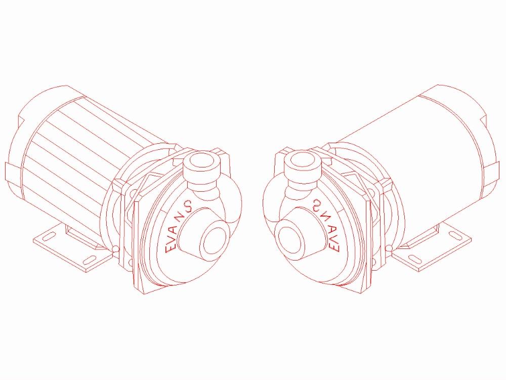 Bombas centrifugas horizontal marca evans