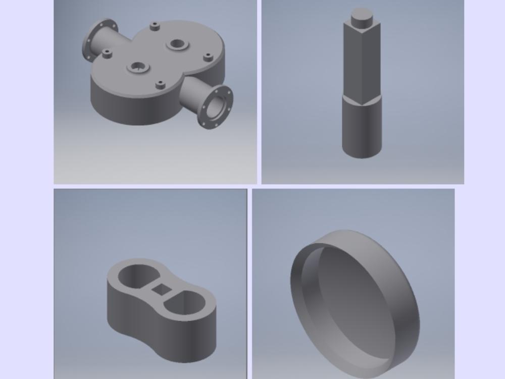 Invention drawings; lobule pump; gear; etc