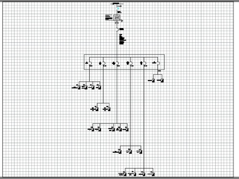 Diagrama unifilar propuesto para hospital