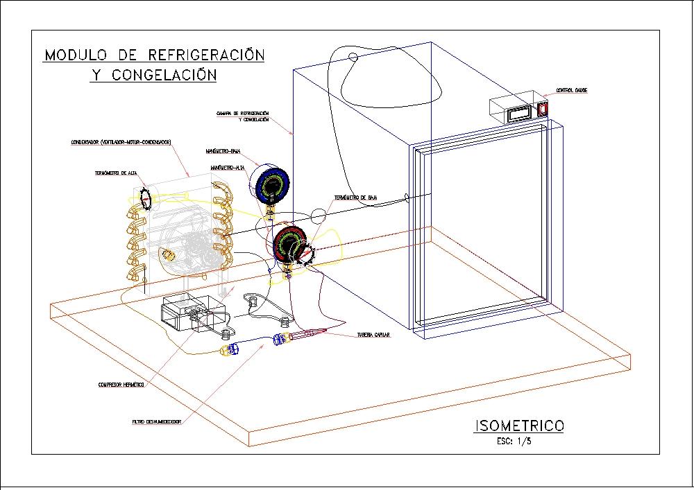 Modulo de congelacion y refrigeracion