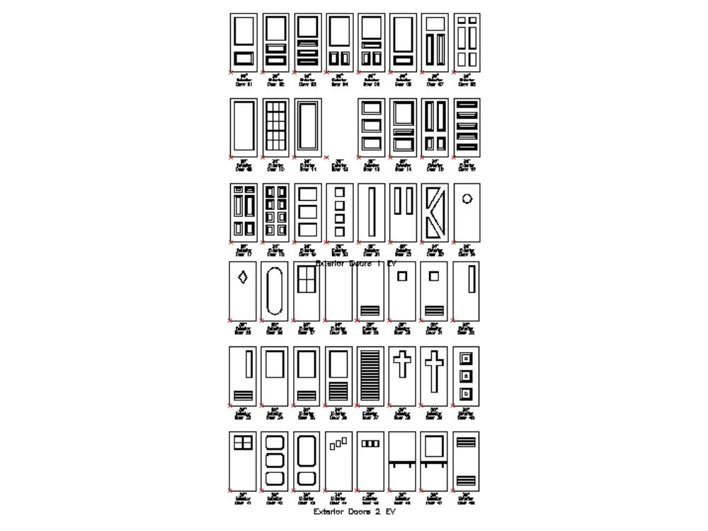 Puertas varias
