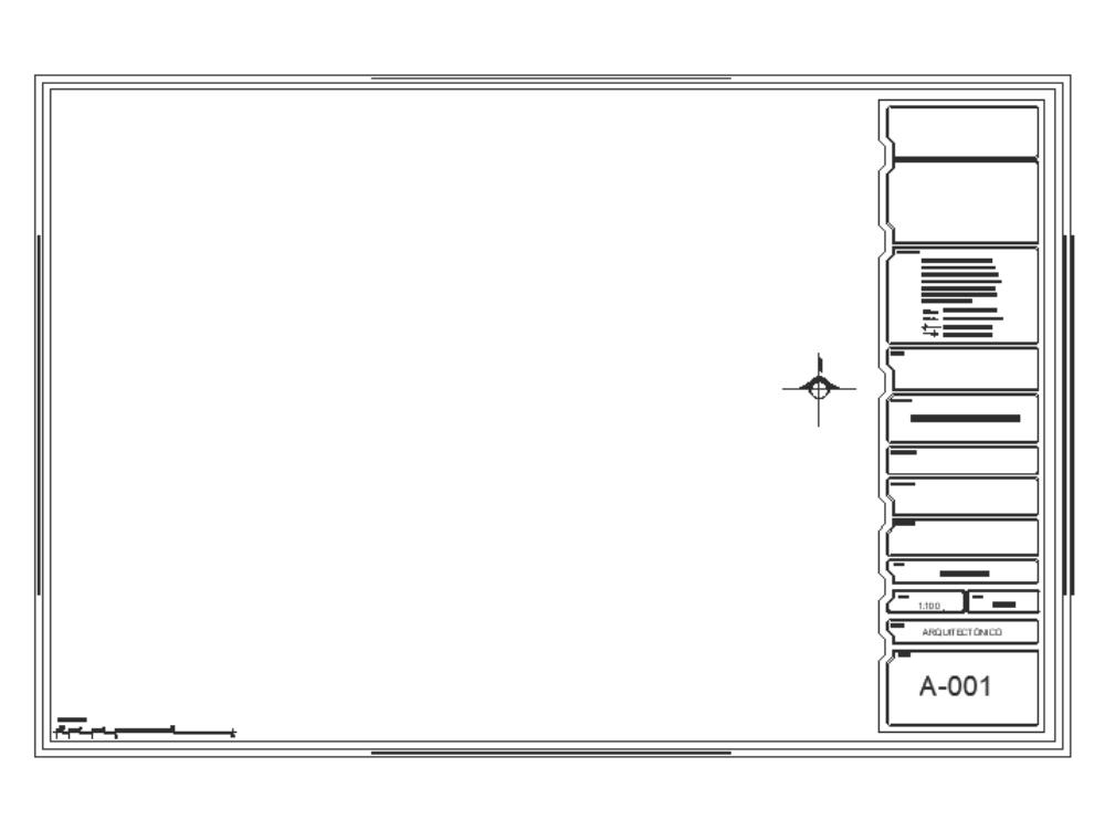 Solapas para planos arquitectonicos - (mexico)