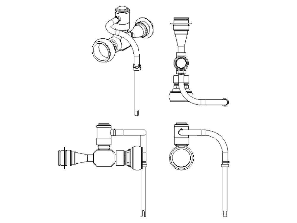 Diseño de espuma eductor en línea para combatir incendios