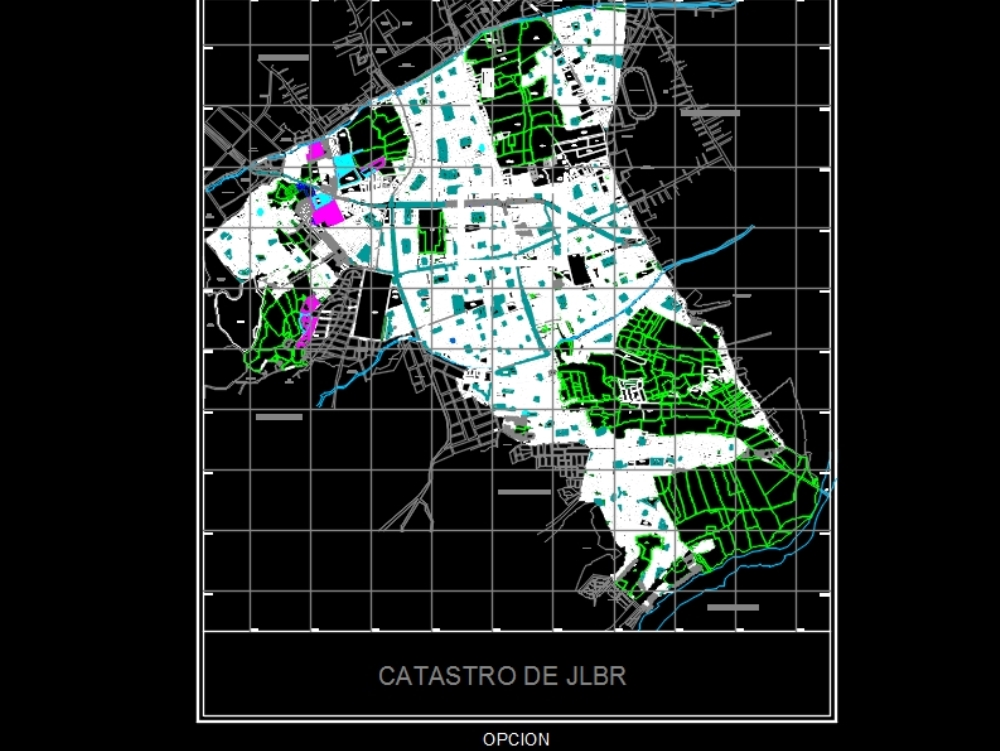 Arequipa town planning