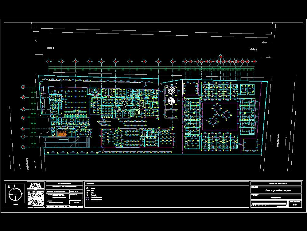 Plano eléctrico - casa hogar de adultos mayores