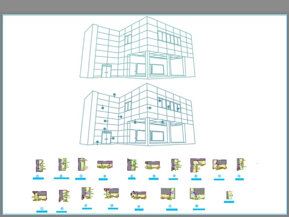 Sistema adesivo de panel lex- detalles constructivo