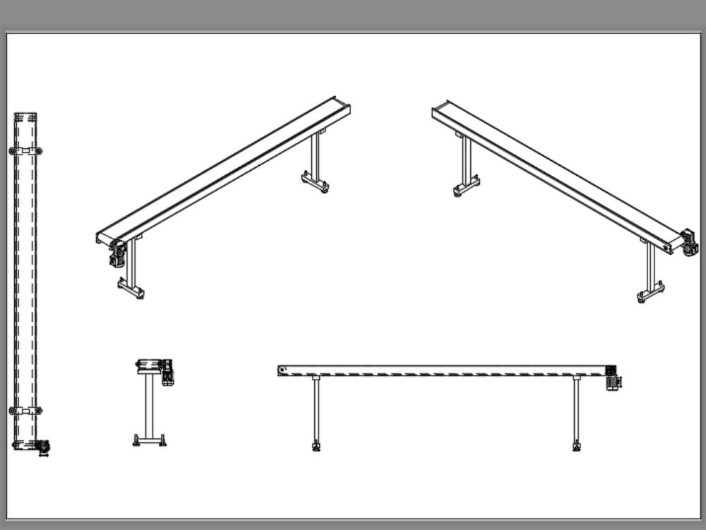 Conveyor belt - belt detail