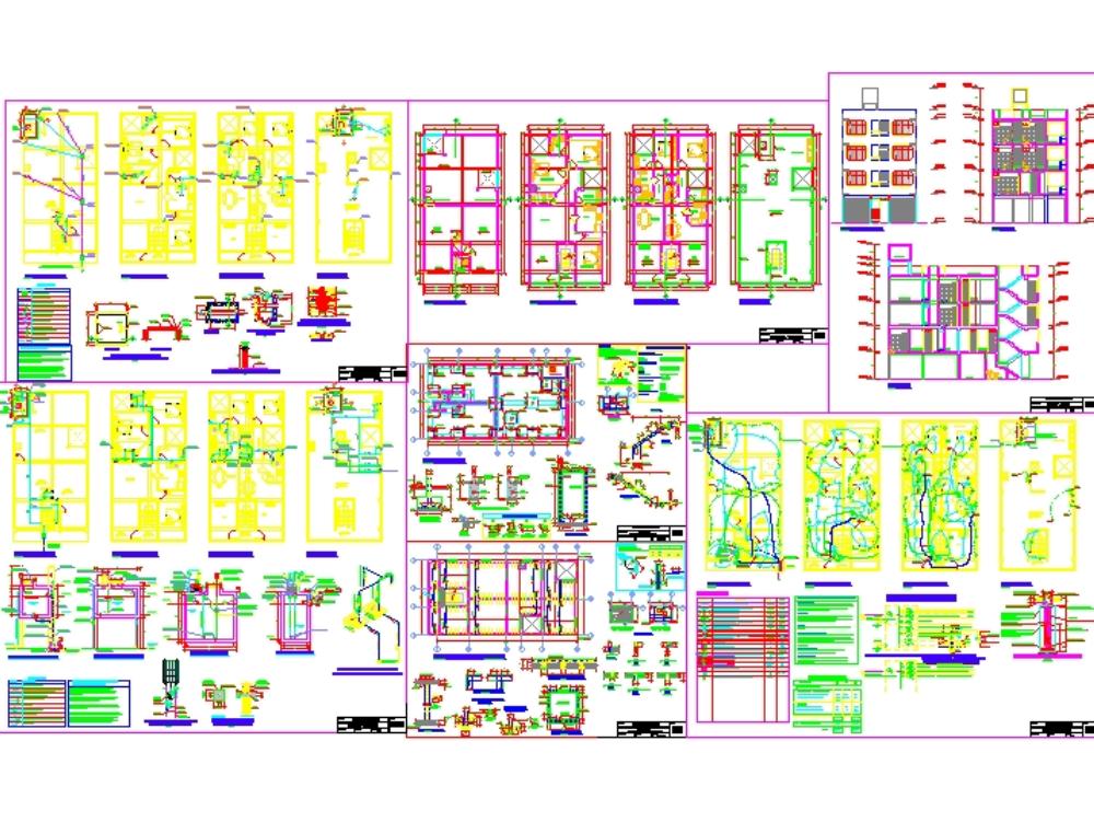 Edificio de viviendas de 4 niveles